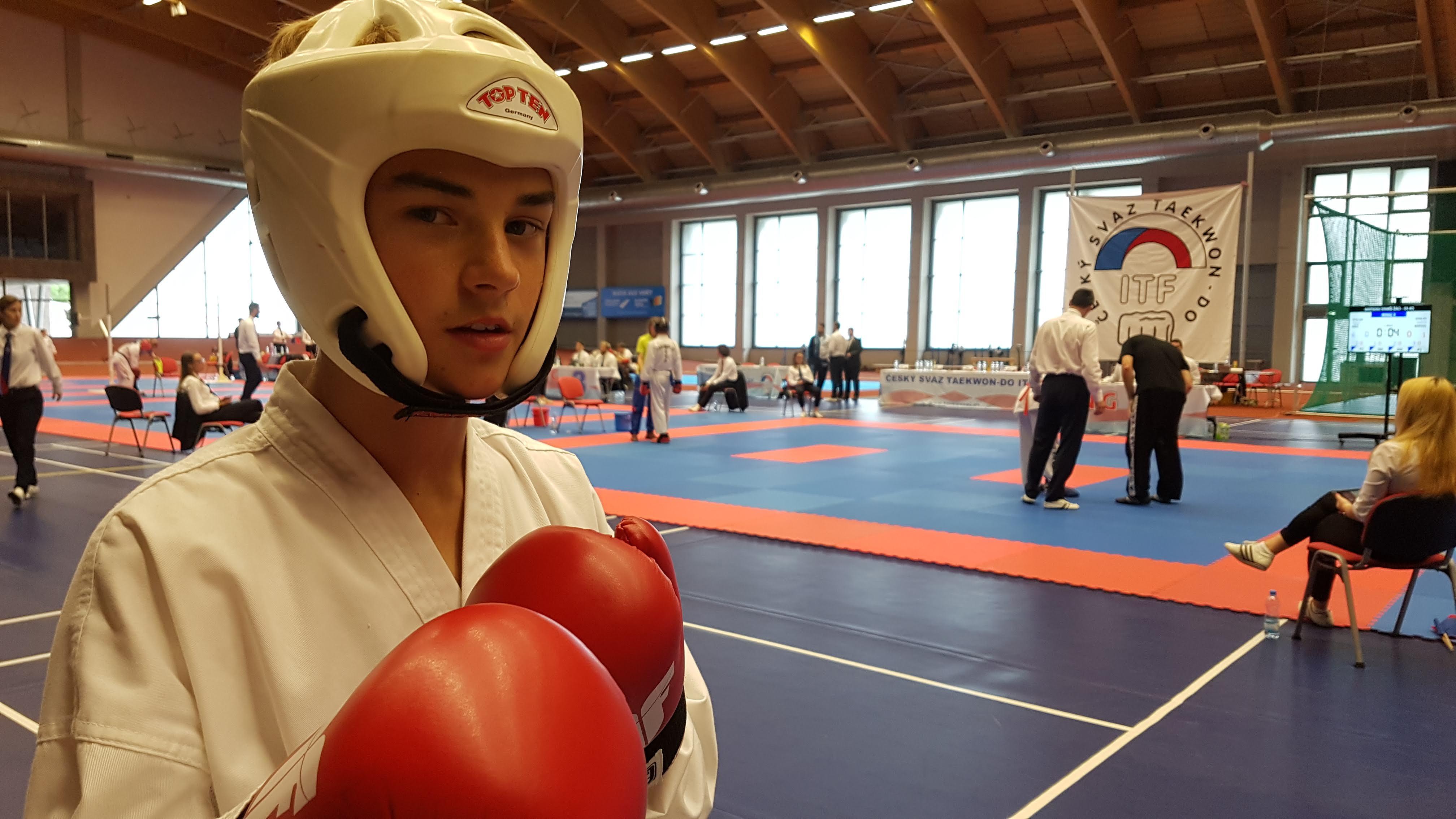 Filip Matoušek je připraven na sportovní boj