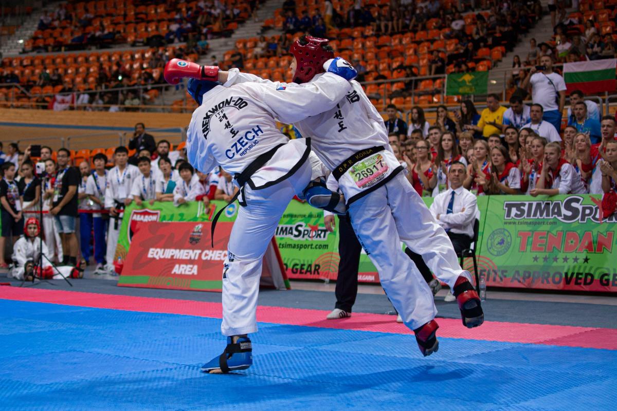 Finálový zápas nebyl vůbec snadný. Korejci jsou světová špička!