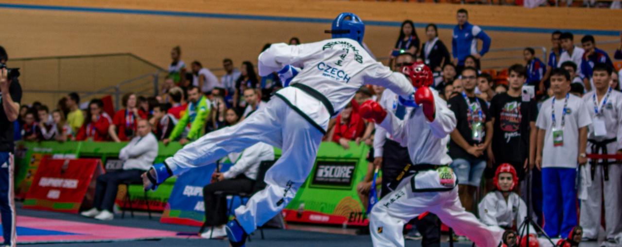 Vojta Fiala je mistr světa ve sportovním boji!